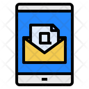 Customer Service Email Phone Icon
