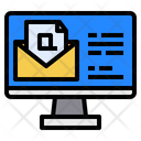 Customer Service Email Computer Icon