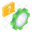 Help Options Help Settings Help Configuration Icon