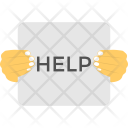 Help Sign Need Icon