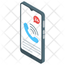 Helpline Customer Services Telecommunication Icon