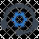 Helpline Support Customer Icon