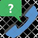 Helpline Receiver Phone Icon