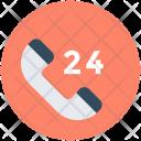 Helpline Twenty Four Icon