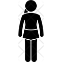 Hemline skirt Icon