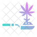 Hemp Marijuana Cbd Icon