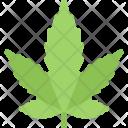 Hemp Leaf Plant Icon