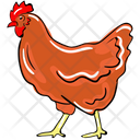 Hen Bird Chicken Icon