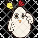 Hen Got Idea Icon