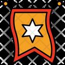 Heraldic Flag Icon