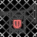 Heraldry Trumpet Horn Icon