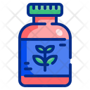 Herb Bottle Remedy Icon