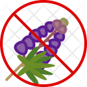Herb Lupine Allergy Icon