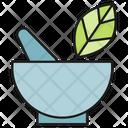 Herb Pharmacy Leaf Icon