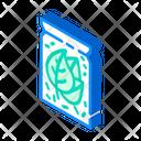 Herb Bag Isometric Icon