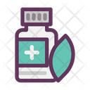 Medical Healthy Herbal Icon