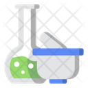 Herbal Test Tube Research Icon