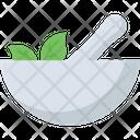 Herbal Bowl Leaf Icon