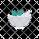 Bowl Pestle Mortar Icon