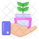 Herbal Cream Icon