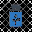 Jar Oil Plant Icon