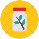 Herbal Medicine Jar Icon