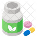 Medicine Pills Jar Medication Icon
