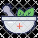 Herbal Medicine Herbal Spa Icon
