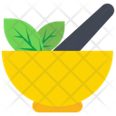 Mortar Pestle Medicine Bowl Icon