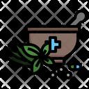 Herbal Medicine Ayurveda Therapy Icon