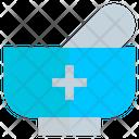 Mortar Medicine Herbal Icon