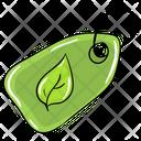 Herbal Tag Label Leaf Icon