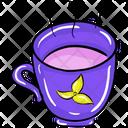 Herbal Tea Teacup Tea Mug Icon