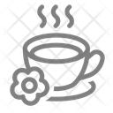 Tea Spa Massage Icon