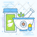 Herbal Treatment Icon