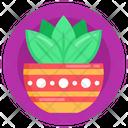 Herbs Bowl Ayurveda Homeopathy Icon