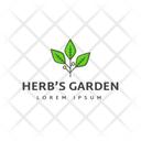 Herbs Garden Herbs Trademark Herbs Insignia Icon