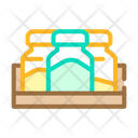 Ground Herbs Jars Icon