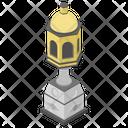 Islamic Lamp Heritage Lamp Museum Lamp Icon