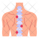 Slipped Disc Backache Spine Pain Icon