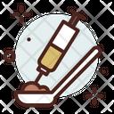 Heroin Smoke Addiction Icon