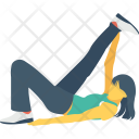 Heron Pose Icon