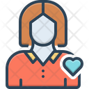 Herself Self Femail Icon