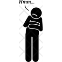 Hesitant Icon