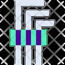 Hex Key Tool Icon
