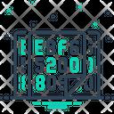 Hexadecimal Icon