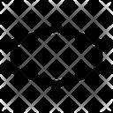 Shape Design Atom Icon