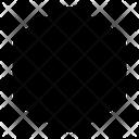 Hexagon Shape Tool Icon