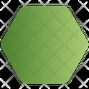 Sign Hexagon Shape Icon