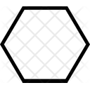 Hexagon Hexagon Shape Icon